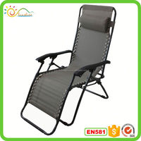 Outdoor Folding Zero Gravity Chair, Comfortable Sleep and Sit Feeling, Adjustable