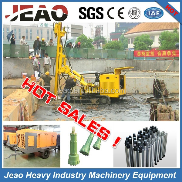 Top Drive Mining Bore Hole Drilling Machine For Stone JBP200/ Top Drive Blast Hole Drilling Machine