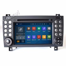 "Kirinavi WC-MB7512 android 7.1 7"" touch screen car dvd player for mercedes for benz SLK-171 2004-2012 car radio multimedia gps"