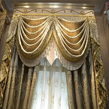 100% Polyester Indian Style Window Curtains