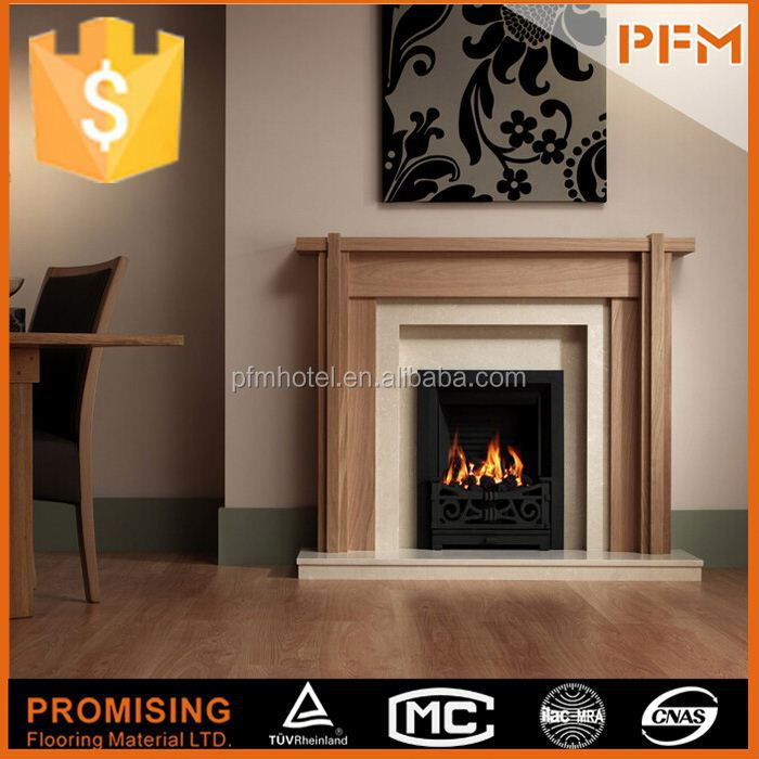 2015 New arrive high qunlity fireplace with pebble fuel