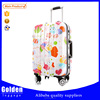Alibaba online shopping Lovely kids luggage ABS hard side travel trolley luggage for children