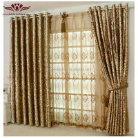home decor curtains/designs gilding velvet curtain fabric
