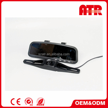 Car rearview system with 3.6-inch TFT LCD color screen in rearview mirror