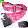 Customized luggage belt with scale lugguag tags travel strap belt