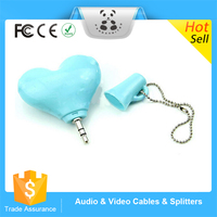 New Suitable for Apple iPod, iPhone, Mp3, Mp4, PSP or and any device with a 3.5mm earphone/headphone jack splitter