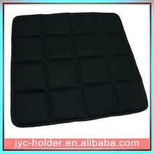 Towel embroidery cushion ,memory foam car back rest cushion ,H0T5b cool seat cushion