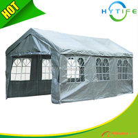 2014 new designed 3X6m PE garage container carport