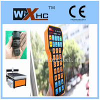 Best Price and Quality which 5 axis Mach3 Cnc remote pendant wireless USB and 31 keys.