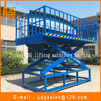 Stationary hydraulic motorcycle scissor lifting table with SJG1-1