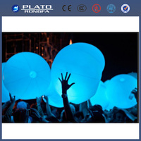 Outdoor glowing lighting ball/solar glow led balls/glowing led lighting ball for party
