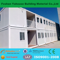Popular fresh comfortable mobile eco container house portable