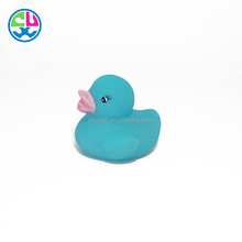 PVC plastic floaing promotional mini rubber duck with LED