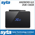X92 3G 32G Android 6.0 TV Box 2GB 16GB Amlogic S912 Octa Core Smart Media Player Dual Wifi BT4.0 4K