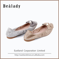 Factory price fashion soft high quality china ballerinas dance girl shoes