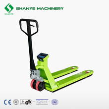Customized 2.5T scale hand pallet truck