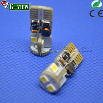 non polar canbus led reversing light epistar 3030 w5w 6smd 3030 car led bulb