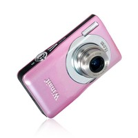 "New Digital Camera with 5X Optical Zoom Lithium Battery and 2.7"" Screen"