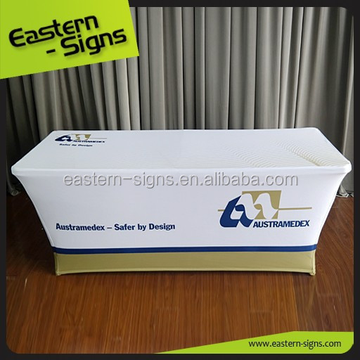 6ft Advertising Table Cloth with Logo Printing