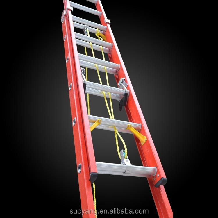 Fold-Flat Duty Rating Telescopic Fiberglass Stepladder, 6-Foot by Little Giant Ladder Systems