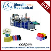 Quality warranty bopp/opp/cpp/pp double side sealing and cutting plastic bag making machine with best service