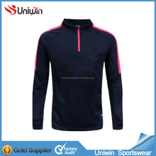 Mens 100% polyester soccer track jacket and track pants