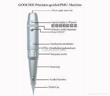 Goochie digital permanent makeup rotary tatoo machine gun kit(ZX-2011)