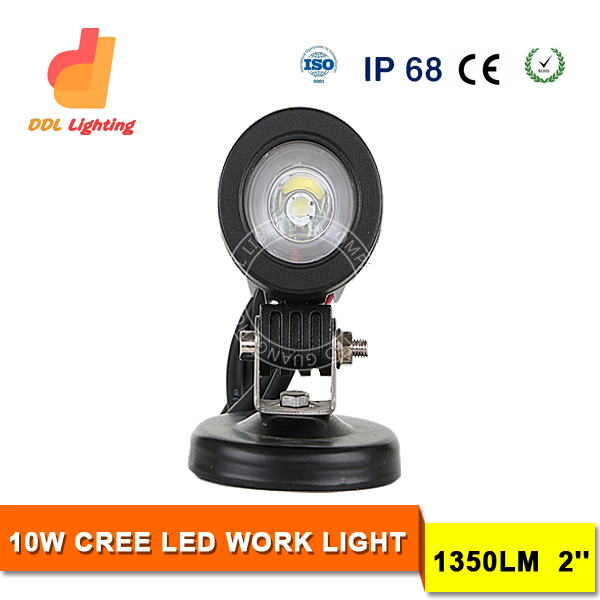 10W 6000K Black Mini LED Boat Marine Light, 10w led work light manufacturer