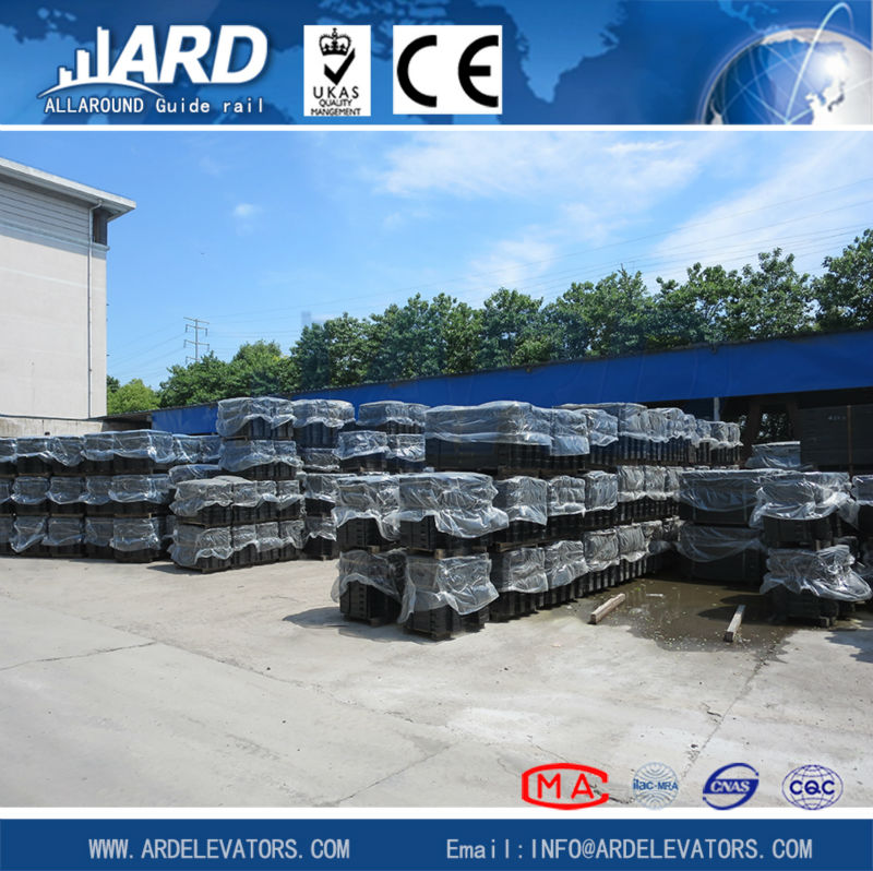 cast-iron counter weight filler for elevator, elevator parts, machinery