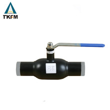 "Best sale propane material anti blow-out stem welding neck 14"" ball valves"