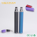 ego evod twist battery electronic cigarette battery rechargeable vv battery oem available