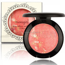 MIVAGIRL Makeup Baked Blush Palette Baked Cheek Color Blusher Blush