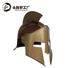 Plastic Roman Medieval Knight Spartan Helmet with Blade Hair Accessories