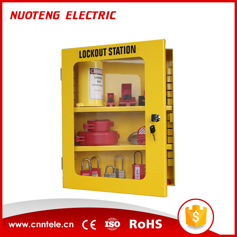 LK03 Steel Plate Group Safety Lockout Box,Lockout Tagout Lock Box