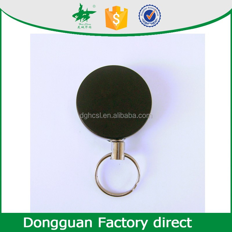 durable heavy duty retractable keychains compatibel ID badge holder with custom LOGO