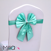 Wholesale China factory no need tie chair cover bow