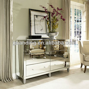 living room simple design mirror furniture