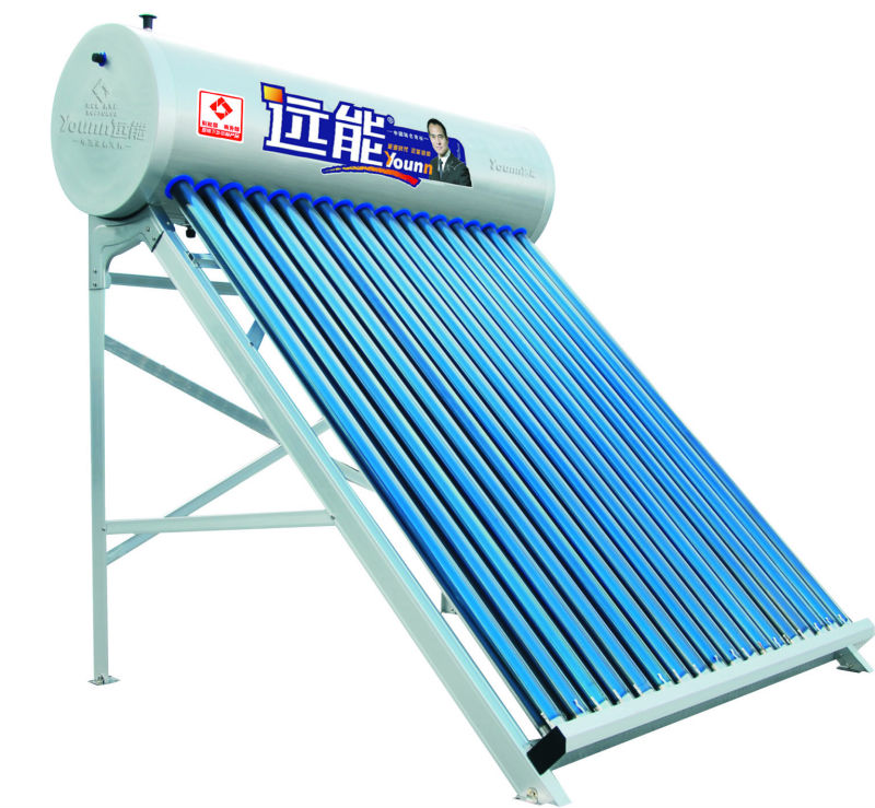 Hot sell excellence perference Non-pressurized evacuated tube solar water heater