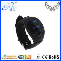 Portable android wrist smart watch with heart rate monitor