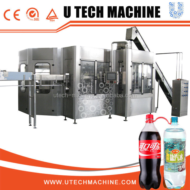 330Ml Bottle Filling Machine Sparkl Drink
