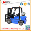 2.5T LPG Vmax forklift with japanese nissanK21 engine