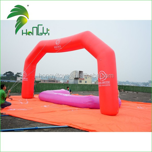 Top Quality  PVC Advertising Inflatable Airtight Arch Custom Inflatable  Arch For Advertisement