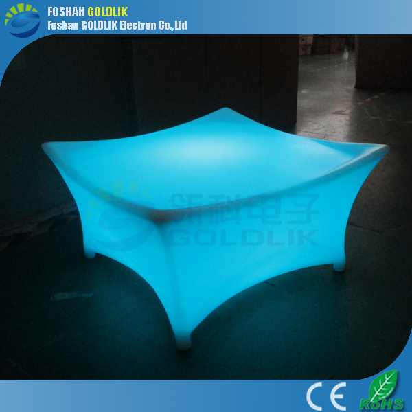 Rechargeable outdoor bright colored furniture GKT-044GR