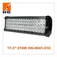 288w led light bar Cree quad row led light bar 24'' offroad led light bars 4 rows for 4x4 mini jeep