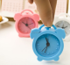 customized funny silicone mini bouncing alarm clock