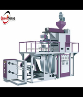 Rotating die head water cooling PP bag film machine