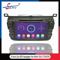 8 Inch Car Audio Multimedia For RAV4 With Car DVD Player Navigation