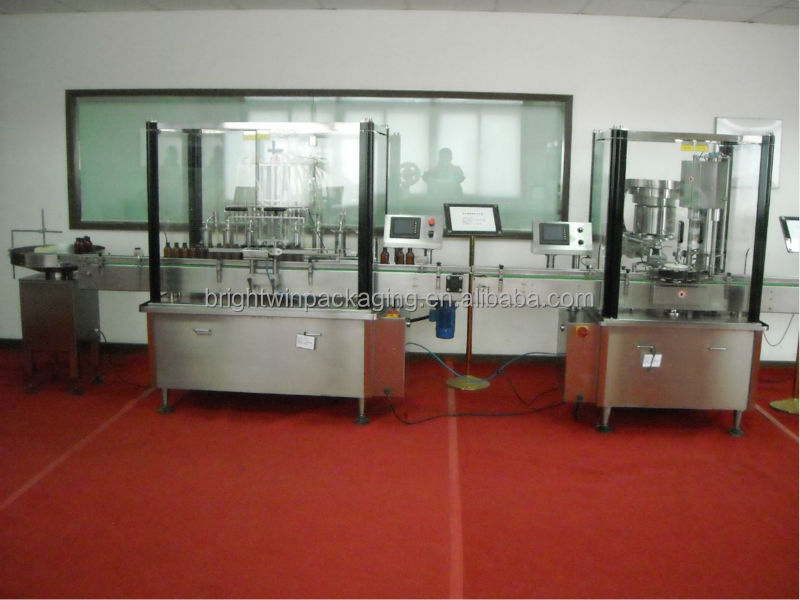 GMP standard factory direct sale sugar syrup filling machine