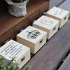 China Wholesale Unfinished Wooden Box With