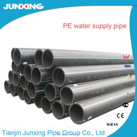 DN20mm-1600mm SDR17 hdpe polythene sewer water plastic pipe